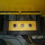 Панель с разъемами для подключения генераторов малой мощности
