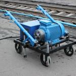 Установка прокрутки подвагонных генераторов - УППГ - 20(модифицированная)