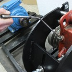 Установка датчика температуры масла редуктора ТРКП
